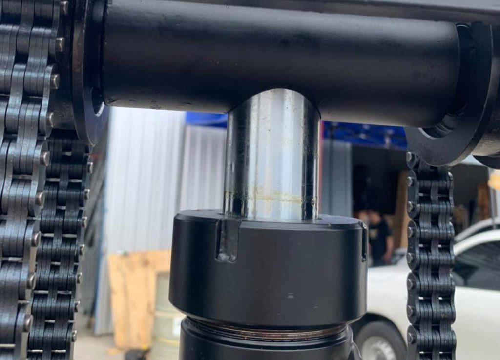 กระบอกไฮดรอลิค รถยกกึ่งไฟฟ้า 1.5Tx3m